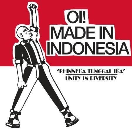 V/A Oi! made In Indonesia DISTRO CD