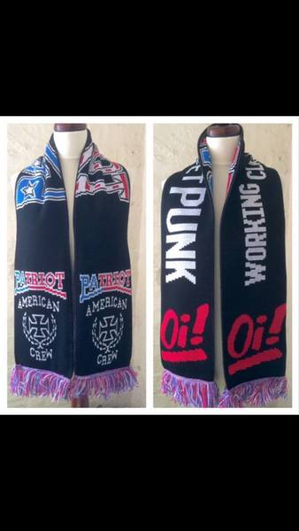 "Patriot ""Working Class Street Punk"" Limited Edition Scarf"