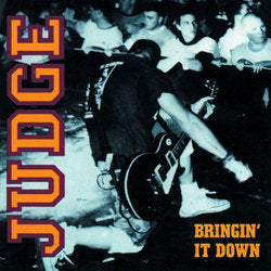 Judge - Bringin' It Down 180 GRAM LP Vinyl DISTRO LP