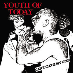 Youth of Today - Can't Close My Eyes LP DISTRO LP