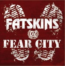 "Fatskins / Fear City Split 7"" EP CCM EP"