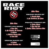 Race Riot 59 - Smash Nazis LP 2nd Pressing CCM LP