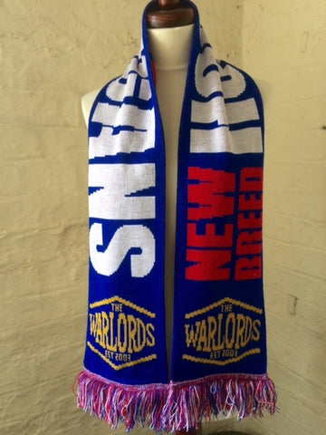 "The Warlords ""New Breed Hooligans"" Limited Edition Scarf"