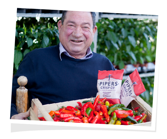 Delicious sweet chilli crisps made with British chilli peppers.