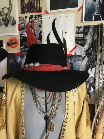 Custom Hat Inspired by Palaye Royale's Emerson Barrett by Black Revolver