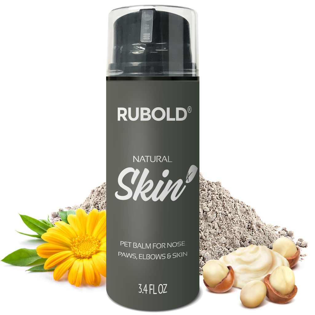 RUBOLD Natural Skin+ Nose and Dog Paw Balm - dog grooming tools and dog care products