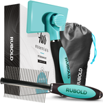 RUBOLD Fur Essentials Grooming Brush Set - dog grooming tools and dog care products