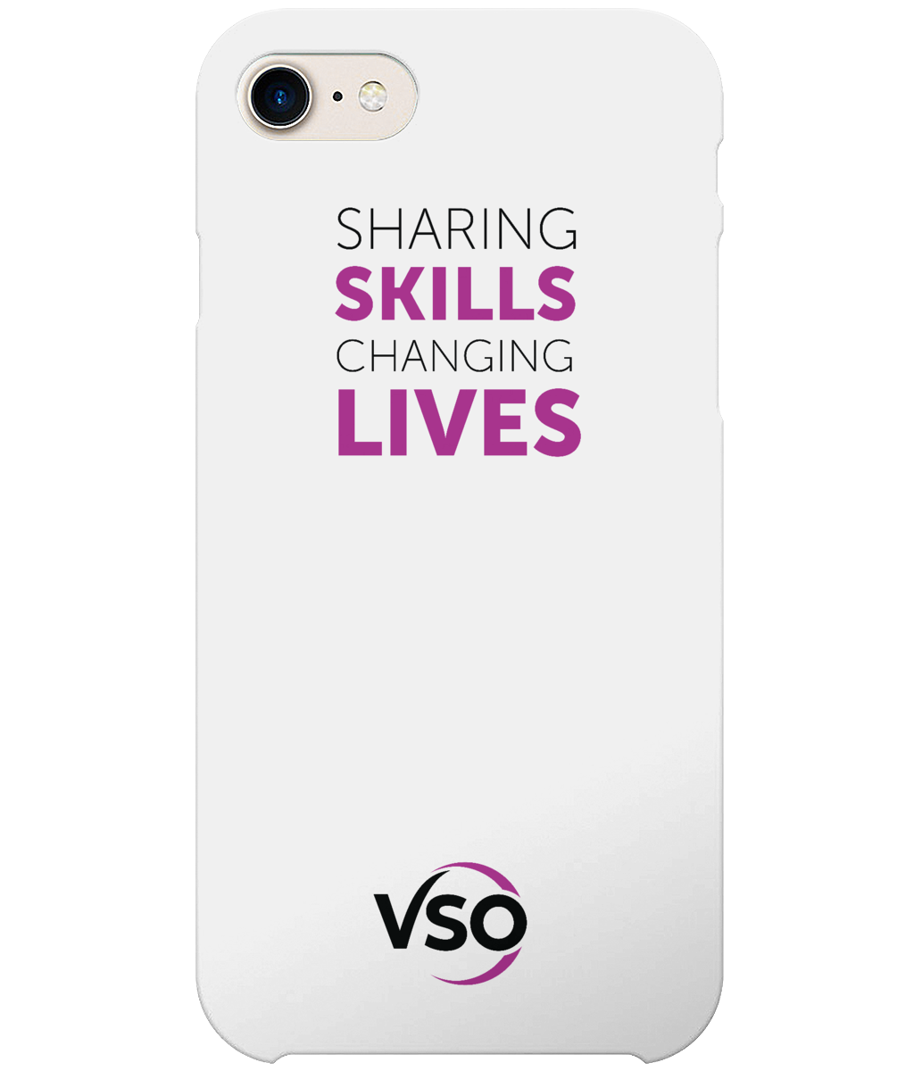 Sharing Skills Changing Lives iPhone 7 Case