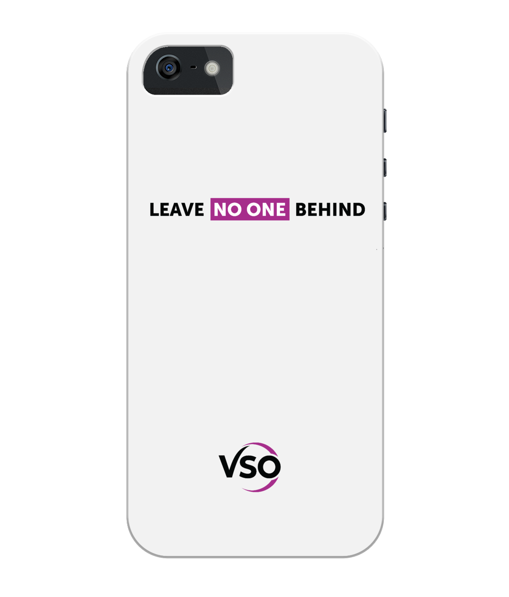 Leave No One Behind iPhone 5/5S/SE Case