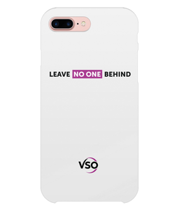 Leave No One Behind iPhone 8 Plus Case