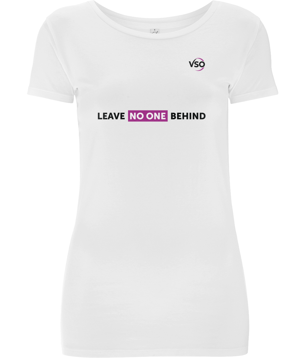 Leave No One Behind Classic Stretch Women's T-Shirt