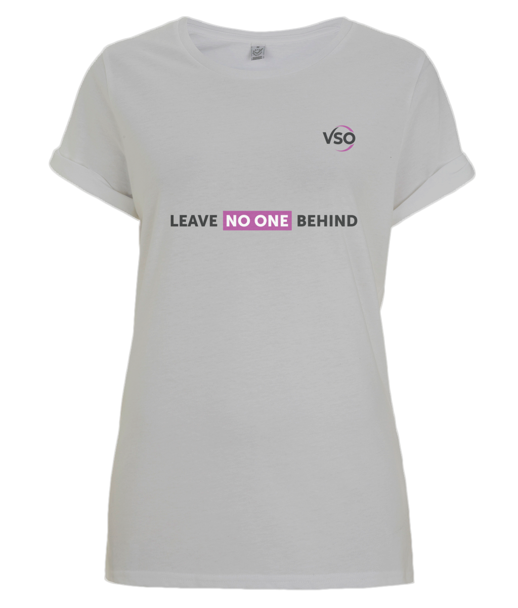 Leave No One Behind Women's Rolled Sleeve T-Shirt