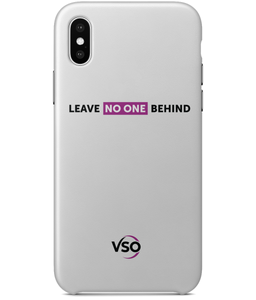 Leave No One Behind iPhone X Case