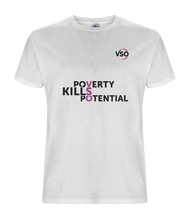 Poverty Kills Potential Unisex T-shirt