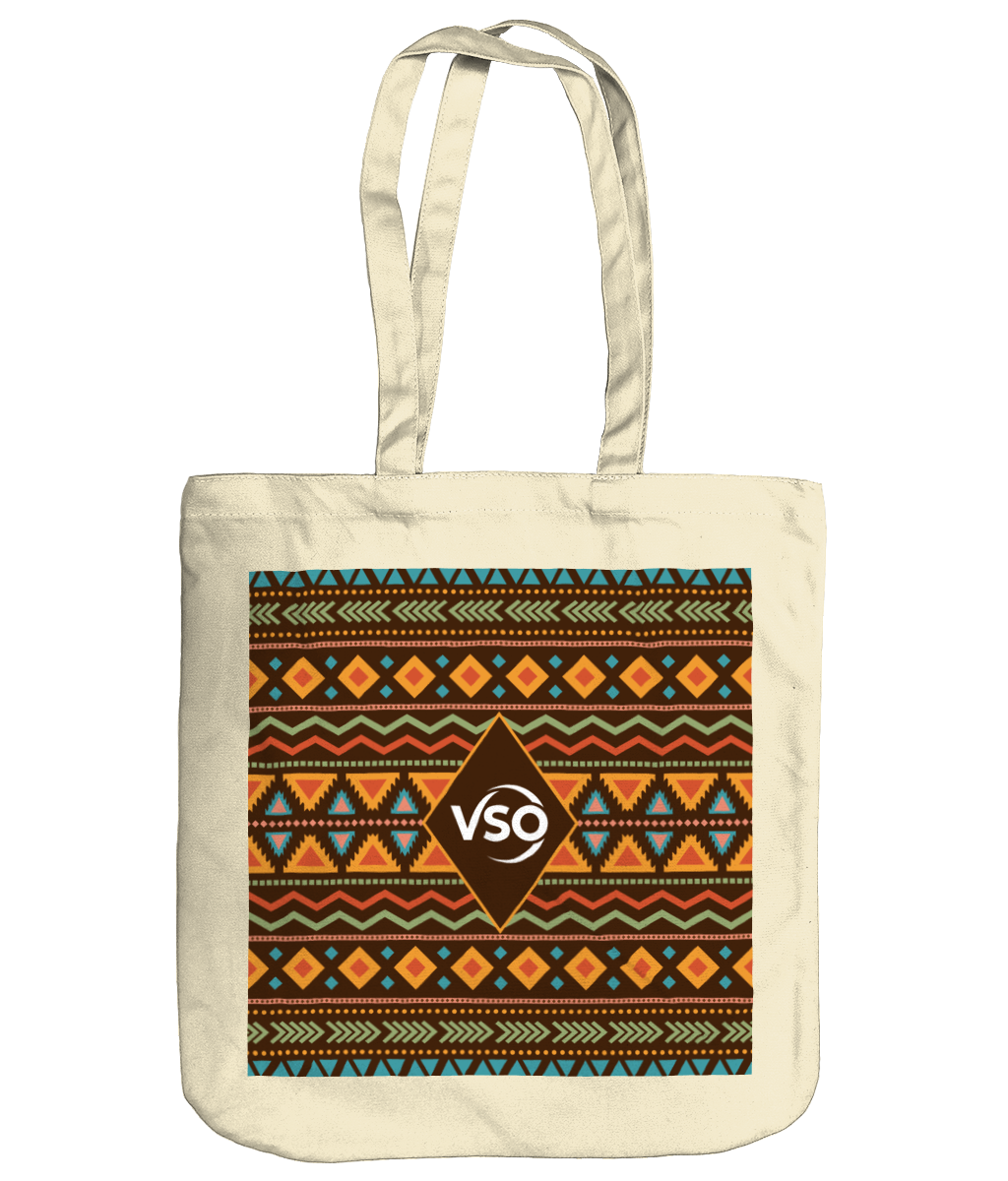 Patterned EarthAware Organic Spring Tote