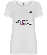 Poverty Kills Potential Women's T-shirt