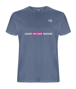 Leave No One Behind Unisex T-shirt (white logo)