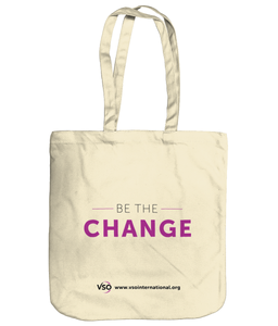 Be The Change EarthAware Organic Spring Tote
