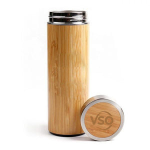 VSO Bamboo thermos flask