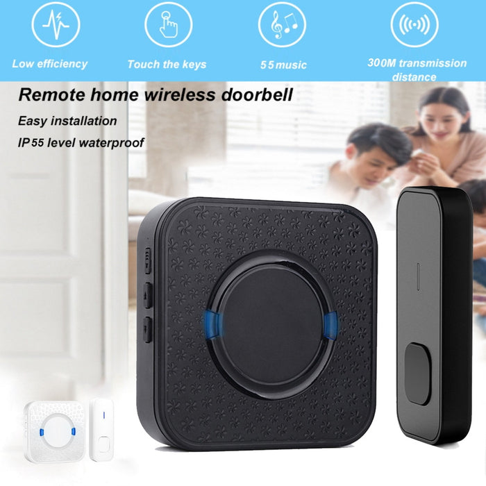 Hot  Smart Wireless Security Home 55 Music