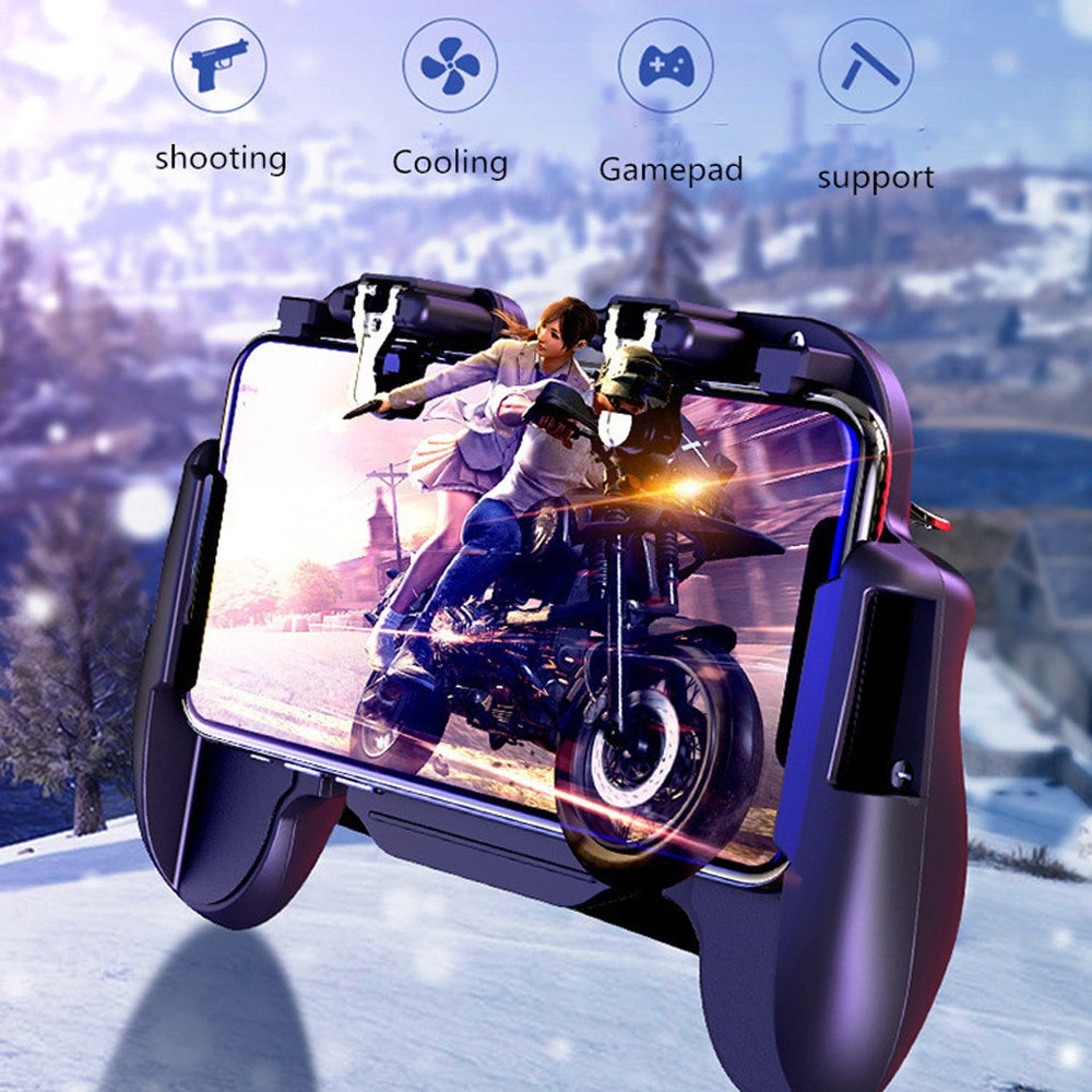 Phone button Mobile Game Controller For PUBG 4in1