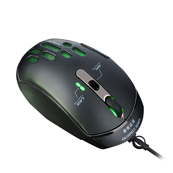 Wired Gaming Mouse 5D JOYSTICK 4000DPI 7 Buttons