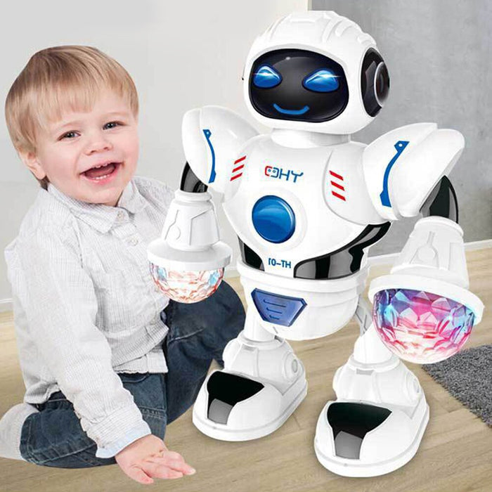 With Music Dancing Robot Birthday Battery Operated