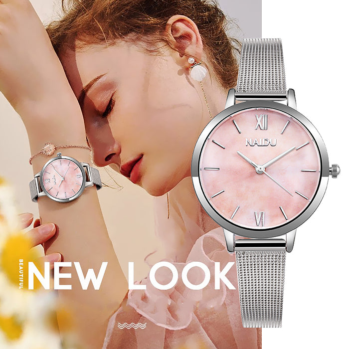 Waknoer Women Watch 2019 Women Watches TOP Brand Luxury Rose Gold Female Clock reloj mujer Relogio Feminino Ladies Watch relogio
