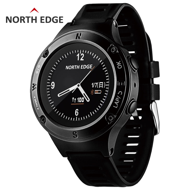 Men Watch Digital Watches Waterproof North Edge Sport Watch LED Triathlon Clock Electronics Bracelet Digital Wristwatches Mens