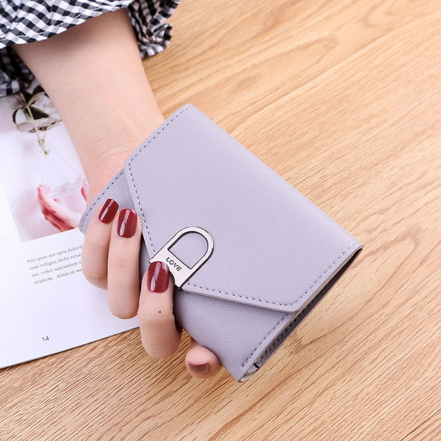 Mini Tassel Wallet Women Fashion Purse Female Short Mini Wallets Korean Students Lovely Purse Female Small Wallet for Women