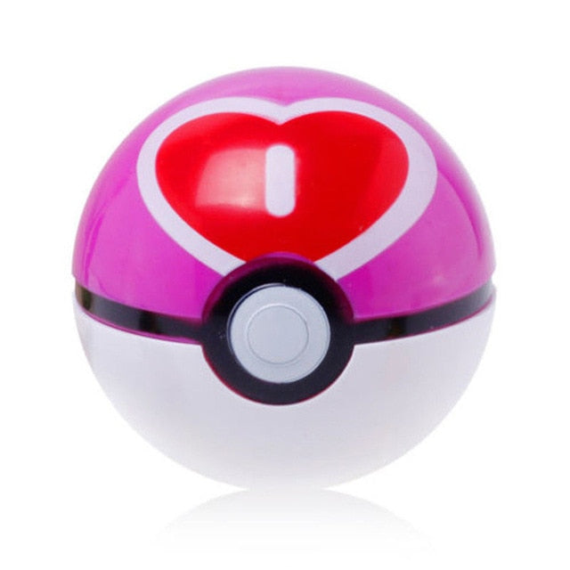 Creative Pokemon with 9x Pikachu Poke ball Cosplay Pop-up Poke Ball Kids Toy Gift Hot 13 Style