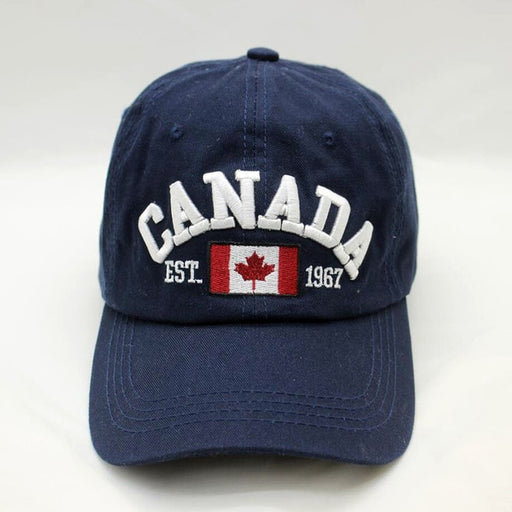 [BINGYUANHAOXUAN] Brand Canada Letter Embroidery Baseball Caps Snapback hat for Men Women Leisure Hat cap wholesale