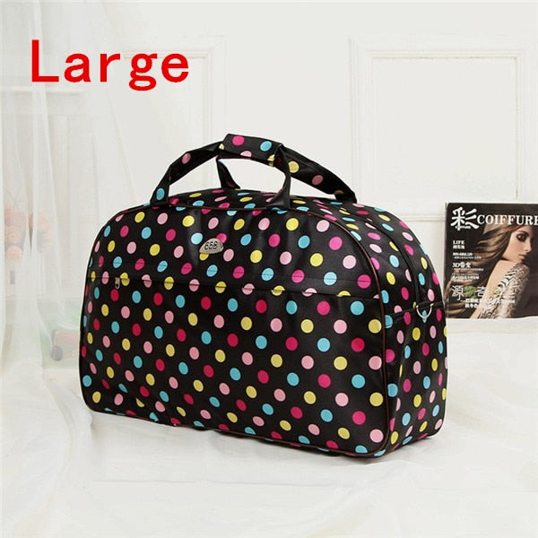 Women Travel Bags Men Luggage Travel Duffel Bags Nylon Waterproof Daily Travel Handbag Print Shoulder Bag bolso deporte gimnasio
