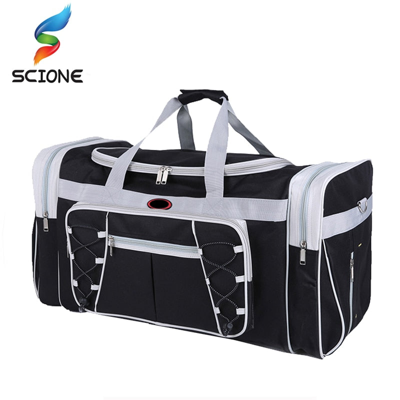 Hot Waterproof Large Capacity Sports Gym Bag Outdoor Multifunction Sporting Travel Handbag Training Duffle Bags for Men Women