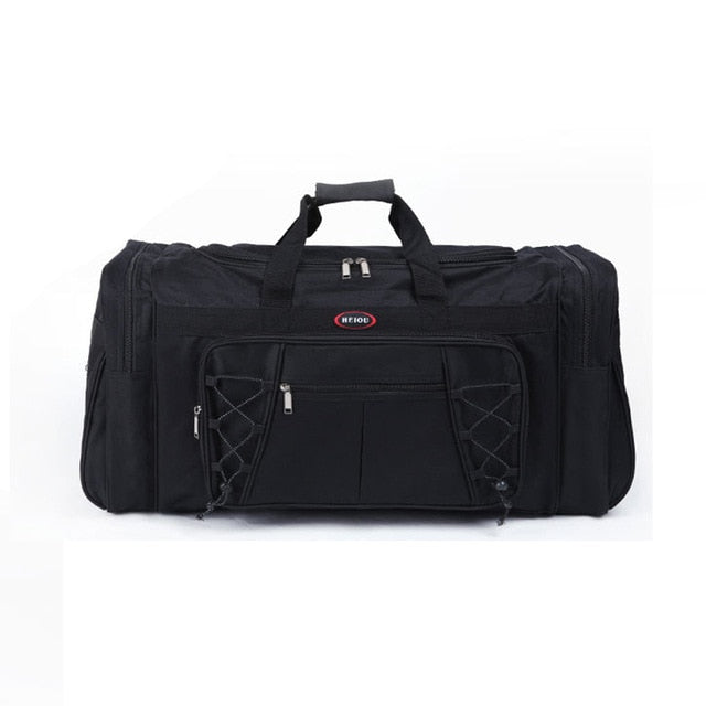 Waterproof Men Travel Bags Carry on Huge Luggage Bags Mens Duffel Bag Portable Travel Tote Large Weekend Bag Crossbody Handbag