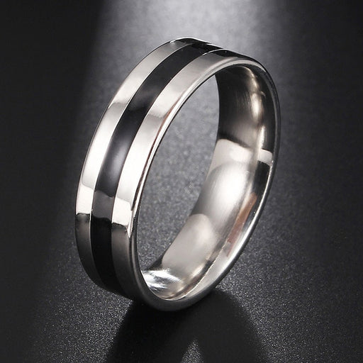 316L Stainless Steel Rings Smooth Simple Wedding Couples Rings for women man Gift high quality ring jewelry for engagement A35