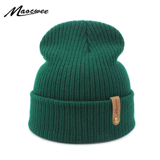 New Fashion Women Men Winter Hat Knitted Skuilles Beanies For Women Hats Balaclava Unisex Winter Cap Men Brand Hat Wholesale