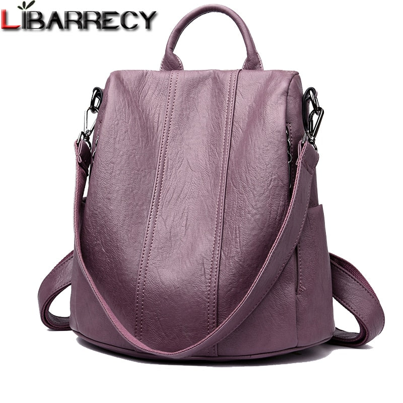 Fashion Simple Backpack Female Waterproof Backpacks for Women Large Capacity School Bags for Girls Brand Anti-theft Travel Bag