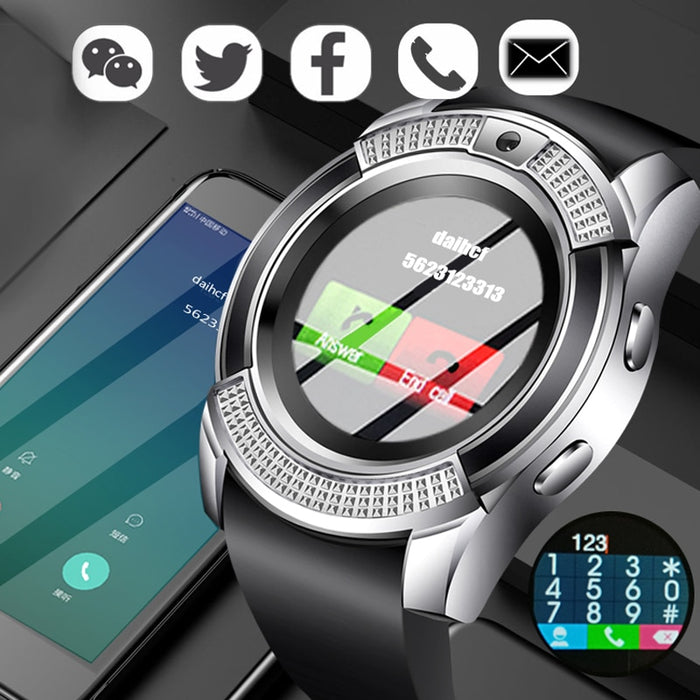 Men Women Smart Watch WristWatch BANGWEI Support With Camera Bluetooth SIM TF Card Smartwatch For Ios Android Phone Couple Watch