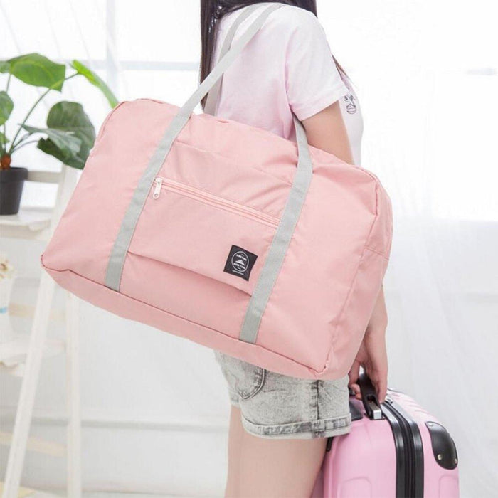 Foldable Large Duffel Travel Luggage Bag Waterproof Travel Pouch Tote Large Capacity Storage Bag Comfortable To Hand Fashion