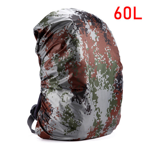 Mounchain 35 / 45L Adjustable Waterproof Dustproof Backpack Rain Cover Portable Ultralight Shoulder Protect Outdoor tools Hiking