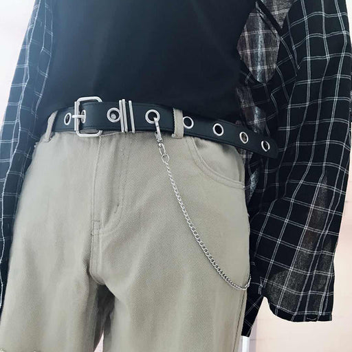 Pu Leather Harness Belts silver pin buckle Metal Waistband brown Women Leisure Jeans Chain Ladies new concave shape belt black
