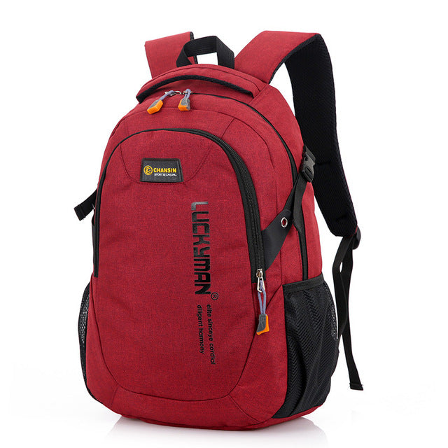 2019 New Fashion Men's Backpack Bag Male Polyester Laptop Backpack Computer Bags high school student college students bag male