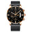 NIBOSI Men Watch Chronograph Sport Mens Watches Top Brand Luxury Waterproof Full Steel Quartz Gold Clock Men Relogio Masculino