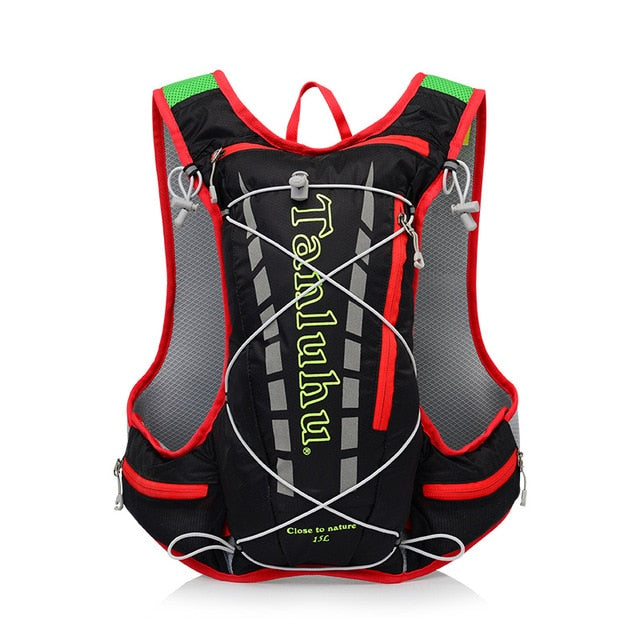 TANLUHU 15L cycling running backpack men women ultra light breathable cycling cross country marathon water bag backpack 450g
