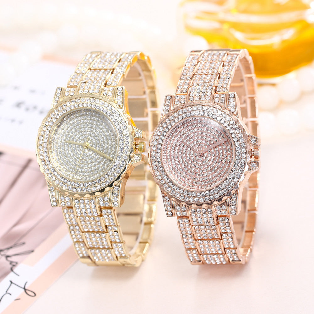 Mujer zegarek damski bayan kol saati relojes para Women Fashion Stainless Steel Band Analog Quartz Round Wrist Watch