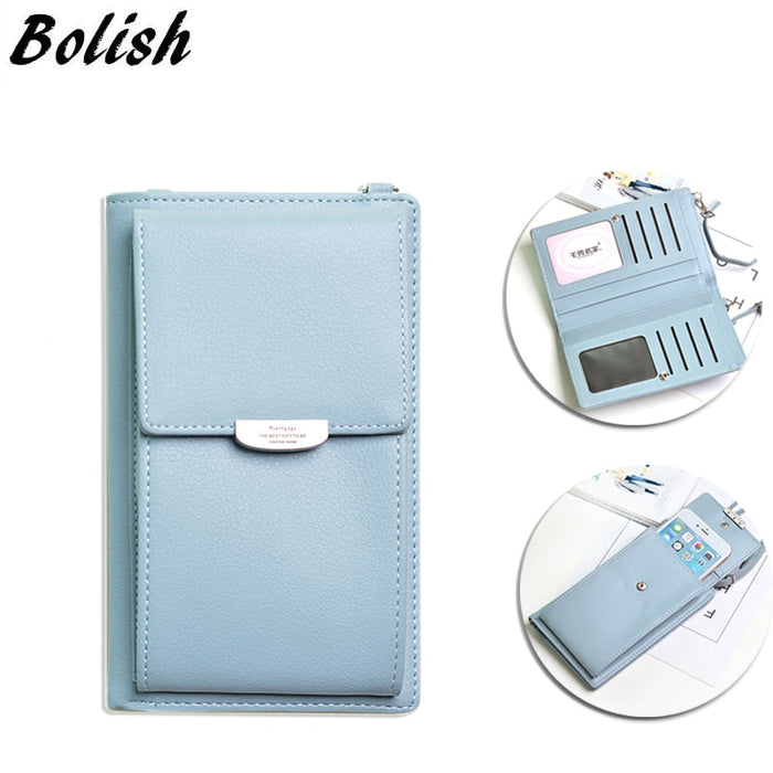Multifunctional Female Wallet Phone Case All-match Portable Small Change Package Purse
