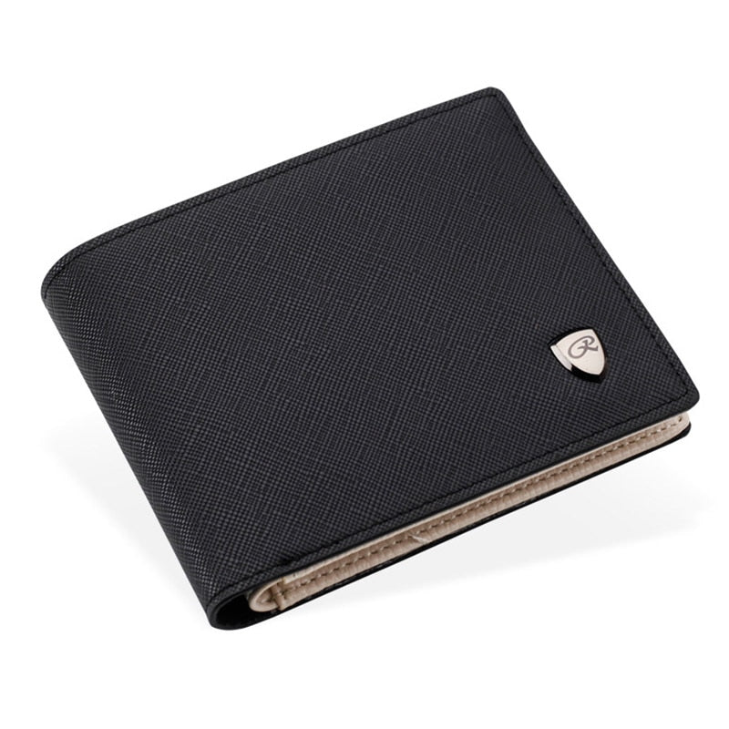 Business Men Wallet Credit Card Holders Money Coin Purses PU Leather Portfolio Famous Brand Designer Male Clutch Card Wallets