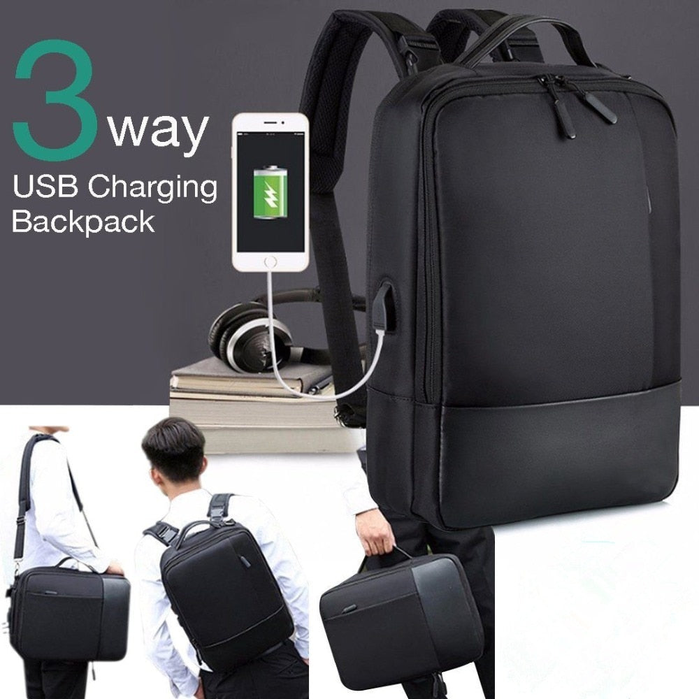 Premium Anti-theft Laptop Backpack with USB Port Multifunction USB charging Men Backpacks For Teenager Fashion Male