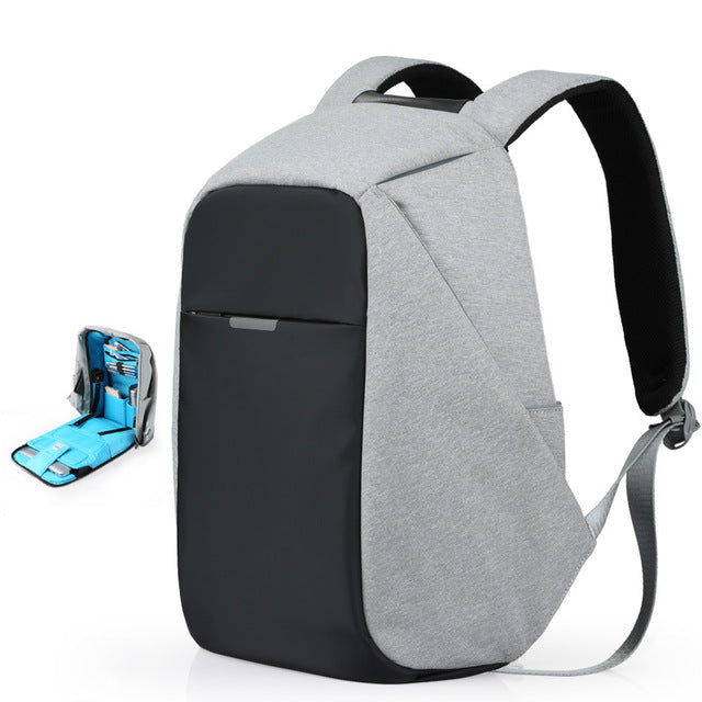Mixi Unisex Backpack Men Women School Bag Boys Girls Satchel 15.6 Laptop Backpack USB Charge 2019 Trend Fashion 17 18 Inch M5510